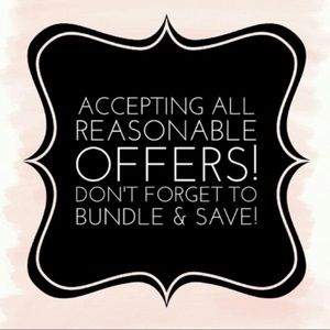 Other - 🖤 BUNDLE AND SAVE! 🖤